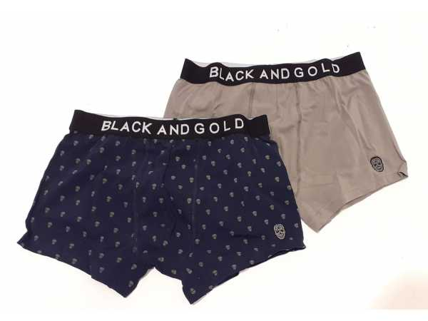 BOXER BLACK and GOLD Navy Accessoires Quasimodo Roeselare