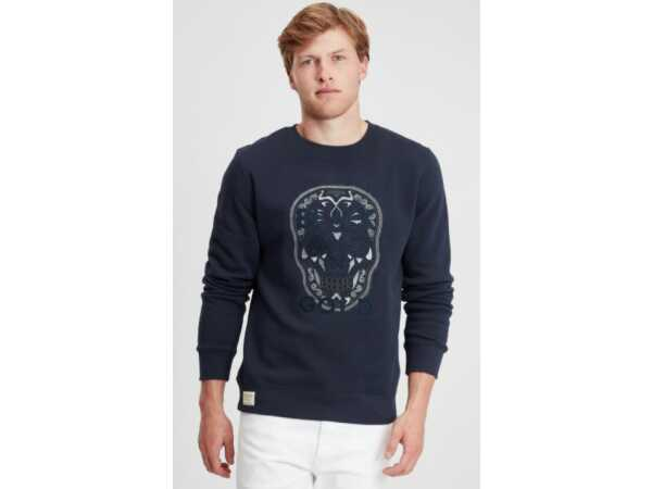 Sweater Black and Gold Play Craneo Navy Mannen Quasimodo Roeselare