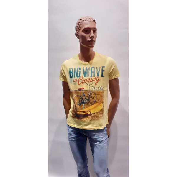 T-shirt Take-A-Way Bikes Canary Mannen Quasimodo Roeselare
