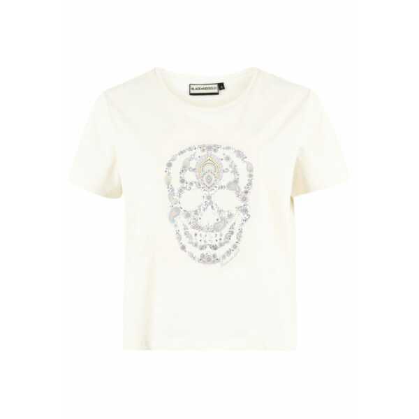 T-SHIRT BLACK and GOLD PESLINATI OFFWHITE Tops & t-shirts Quasimodo Roeselare