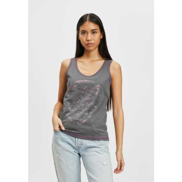 TOP BLACK and GOLD MARCELLINA DAR GREY Tops & t-shirts Quasimodo Roeselare