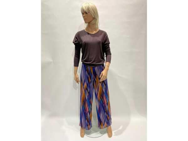 T-SHIRT DAME BLANCHE AMALI 760 BROWN Tops & t-shirts Quasimodo Roeselare