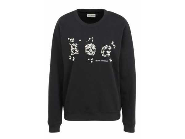 SWEATER BLACKandGOLD ARVEJILLA BLACK Sweaters Quasimodo Roeselare