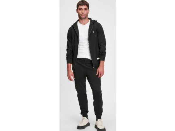 SWEATER BLACK and GOLD HOODOS BLACK Mannen Quasimodo Roeselare