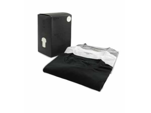 THREE PACK T-SHIRT BLACKandGOLD BG18 Mannen Quasimodo Roeselare