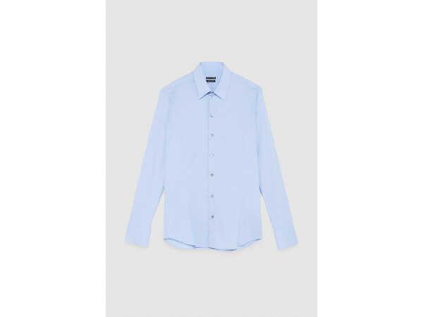 HEMD PATRIZIA PEPE 5C0055 LIGHT BLUE Hemden Quasimodo Roeselare