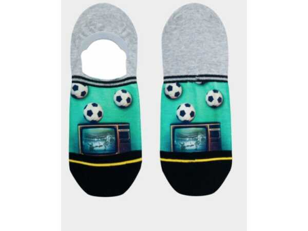 SOCKS XPOOOS SOCCER AT TV INVISIBLE Accessoires Quasimodo Roeselare