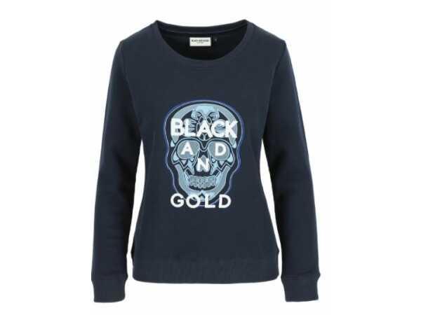 SWEATER BLACKANDGOLD COLIHUE MOOD INDIGO Sweaters Quasimodo Roeselare