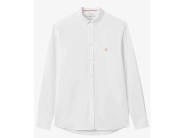 HEMD LES DEUX OLIVER WHITE Hemden Quasimodo Roeselare