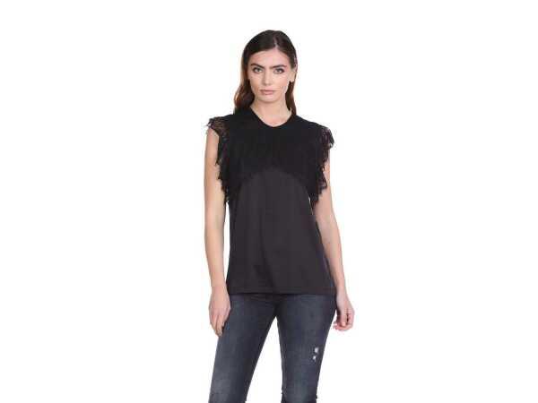 BLOES RELISH CELORS BLACK Tops & t-shirts Quasimodo Roeselare